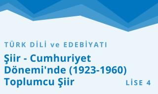 12. Sınıf Türk Dili ve Edebiyatı 10.Bölüm