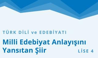 12. Sınıf Türk Dili ve Edebiyatı 11.Bölüm