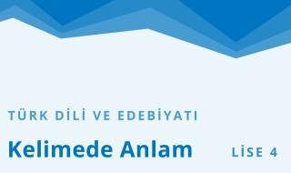 12. Sınıf Türk Dili ve Edebiyatı 12.Bölüm