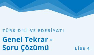 12. Sınıf Türk Dili ve Edebiyatı 13.Bölüm