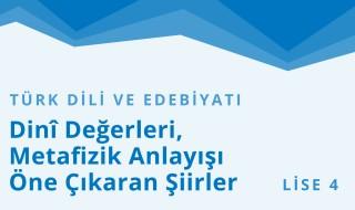 12. Sınıf Türk Dili ve Edebiyatı 21.Bölüm
