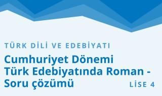 12. Sınıf Türk Dili ve Edebiyatı 34.Bölüm