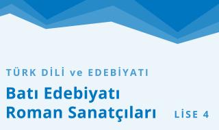 12. Sınıf Türk Dili ve Edebiyatı 4.Bölüm