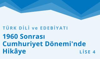 12. Sınıf Türk Dili ve Edebiyatı 5.Bölüm