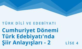 12. Sınıf Türk Dili ve Edebiyatı 50.Bölüm