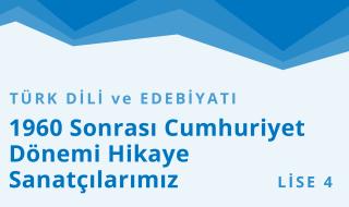 12. Sınıf Türk Dili ve Edebiyatı 7.Bölüm