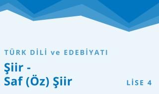 12. Sınıf Türk Dili ve Edebiyatı 9.Bölüm
