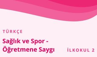 2. Sınıf Türkçe 12.Bölüm