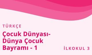 3. Sınıf Türkçe 11.Bölüm