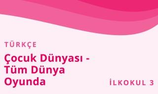 3. Sınıf Türkçe 14.Bölüm