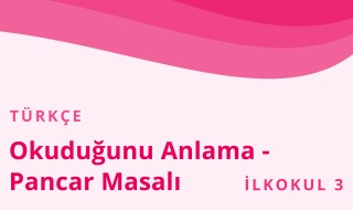 3. Sınıf Türkçe 21.Bölüm