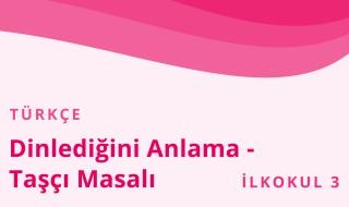 3. Sınıf Türkçe 24.Bölüm