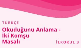 3. Sınıf Türkçe 29.Bölüm