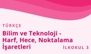 3. Sınıf Türkçe 4.Bölüm