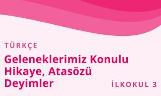 3. Sınıf Türkçe 42.Bölüm