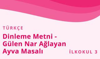 3. Sınıf Türkçe 7.Bölüm