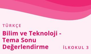 3. Sınıf Türkçe 9.Bölüm
