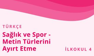 4. Sınıf Türkçe 15.Bölüm
