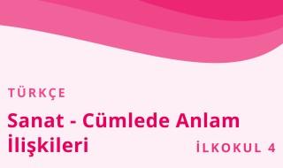 4. Sınıf Türkçe 17.Bölüm