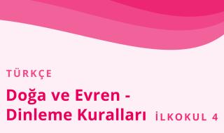4. Sınıf Türkçe 2.Bölüm