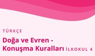 4. Sınıf Türkçe 3.Bölüm