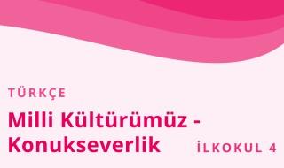 4. Sınıf Türkçe 6.Bölüm