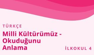4. Sınıf Türkçe 7.Bölüm