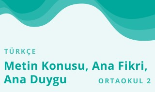 6. Sınıf Türkçe 4.Bölüm