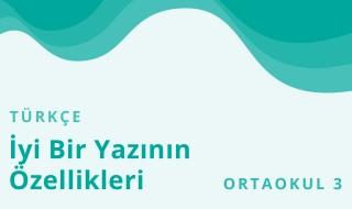 7. Sınıf Türkçe 17.Bölüm