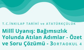 8. Sınıf T.C. İnkılap Tarihi ve Atatürkçülük 11.Bölüm