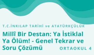 8. Sınıf T.C. İnkılap Tarihi ve Atatürkçülük 14.Bölüm