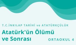8. Sınıf T.C. İnkılap Tarihi ve Atatürkçülük 15.Bölüm