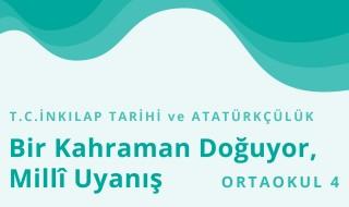 8. Sınıf T.C. İnkılap Tarihi ve Atatürkçülük 17.Bölüm