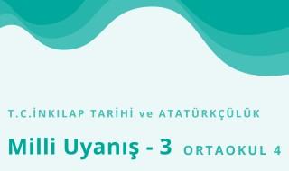 8. Sınıf T.C. İnkılap Tarihi ve Atatürkçülük 20.Bölüm