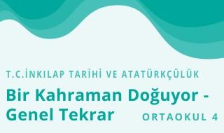8. Sınıf T.C. İnkılap Tarihi ve Atatürkçülük 3.Bölüm