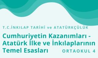 8. Sınıf T.C. İnkılap Tarihi ve Atatürkçülük 5.Bölüm
