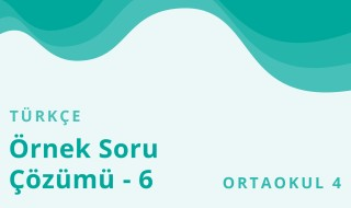 8. Sınıf Türkçe 25.Bölüm