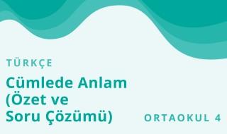 8. Sınıf Türkçe 3.Bölüm