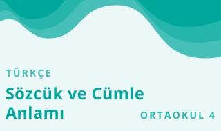 8. Sınıf Türkçe 33.Bölüm