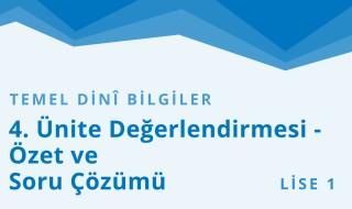 9. Sınıf Anadolu İmam Hatip 13.Bölüm