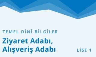 9. Sınıf Anadolu İmam Hatip 31.Bölüm