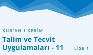 9. Sınıf Anadolu İmam Hatip 35.Bölüm