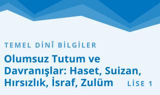 9. Sınıf Anadolu İmam Hatip 7.Bölüm