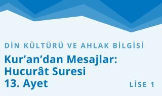 9. Sınıf Din Kültürü ve Ahlak Bilgisi 11.Bölüm