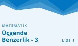 9. Sınıf Matematik 8.Bölüm