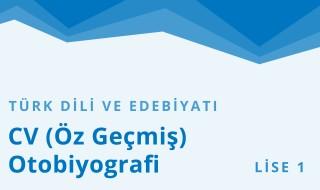 9. Sınıf Türk Dili ve Edebiyatı 12.Bölüm