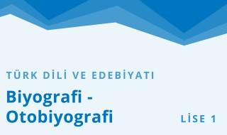 9. Sınıf Türk Dili ve Edebiyatı 13.Bölüm