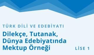 9. Sınıf Türk Dili ve Edebiyatı 20.Bölüm
