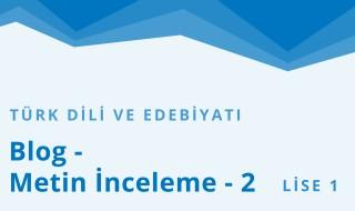9. Sınıf Türk Dili ve Edebiyatı 24.Bölüm
