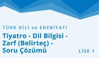 9. Sınıf Türk Dili ve Edebiyatı 8.Bölüm